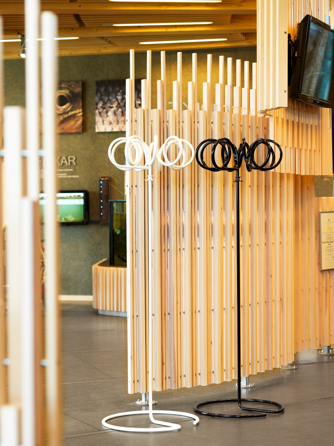 Good Visp Coat Stand Marries Simple Functionality With The Most Advanced Of  Steel Production Techniques. You Can Use Visp To Hang Up Coats, Umbrellas  And Bags, ...