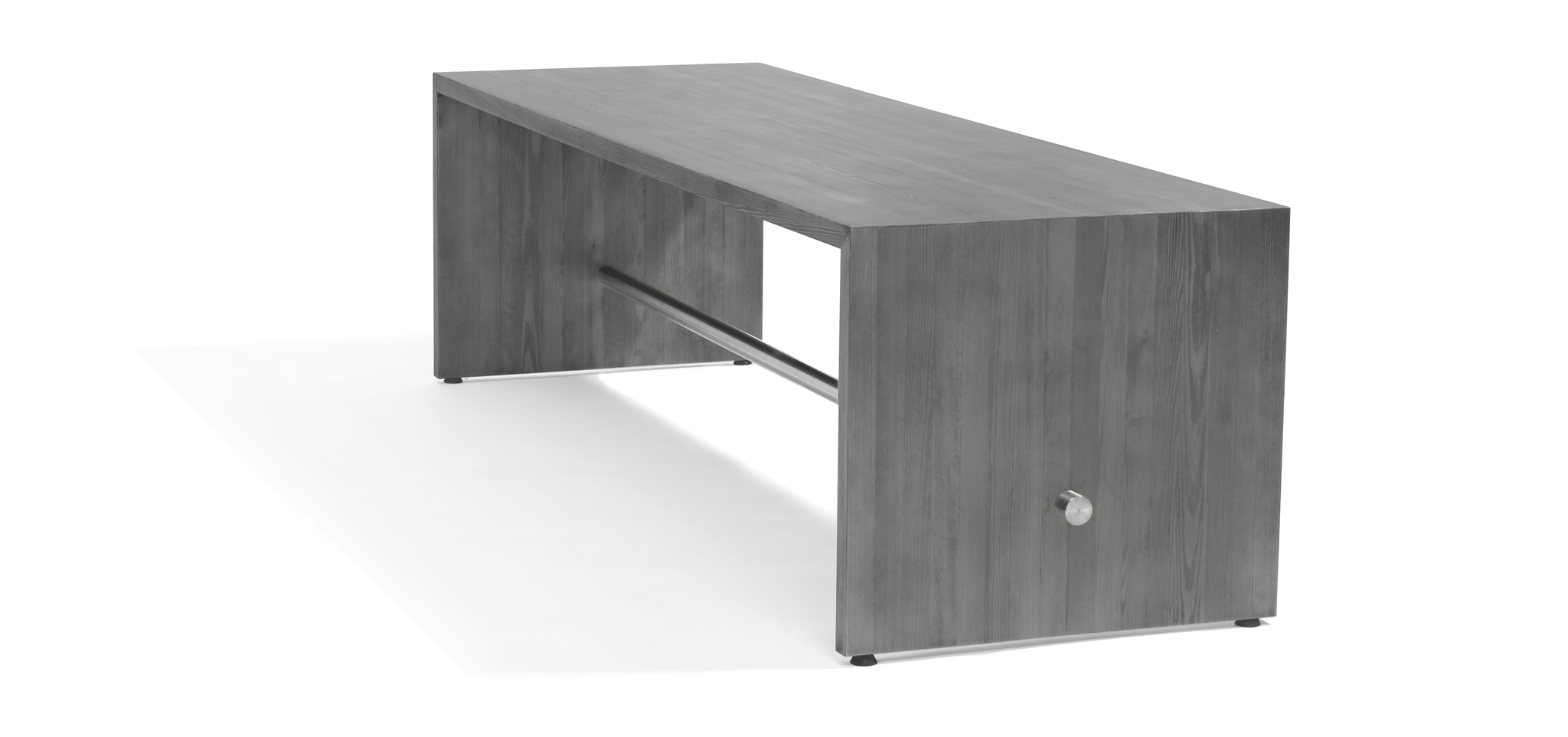 ... Bar Table And Bench In Solid Wood, High Pressure Laminate On Plywood,  Painted MDF Or Valchromat. Stainless Steel Foot Rest. Ping Pong Can Be  Customized ...