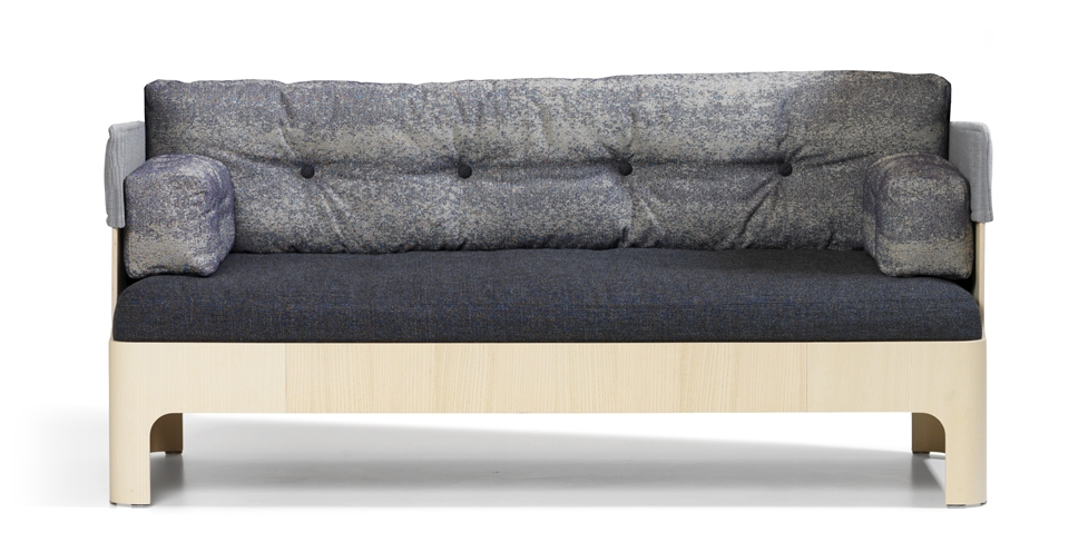 Koja Sofa Low Is A With Protective Shell Of Ash Wood An Upholstered Upper Part And Down Filled Cushions Make The High Perfect Place To Relax